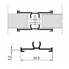 PROFILE HA-EFF TYPE 6476 WHITE 92 P.MTR. GV