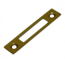 STRIKING PLATE BRASS F.CABINET LOCKS JUNIE 2556