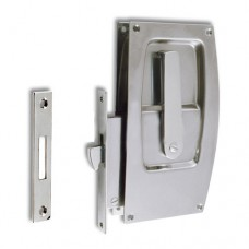 SLIDING DOOR LOCK C/W HARDWARE 3796RC LATCH SS