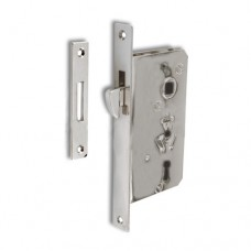 SLIDING DOORLOCK NO HARDWARE 3797 CHR.BR W 2KEYS &