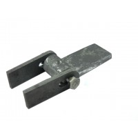 WELDING DOOR HINGES 7625 WITH A SLOTTED HOLE