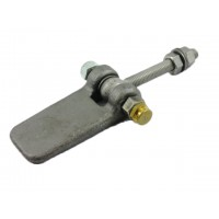 WELDING DOOR HINGES 7626 ADJUSTABLE BY MEANS OF EYEBOLT
