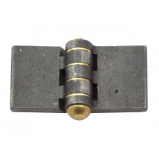WELDING HINGE STEEL 120X40MM BRASS PIN