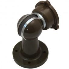 DOORCATCH MAGN BROWN PVC SPHERIX