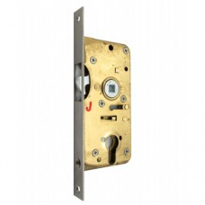 SLIDING DOOR LOCK 1069PC BP FRONT PLATE.